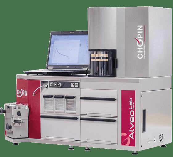 Máy xác định đặc tính lưu biến của khối bột nhào