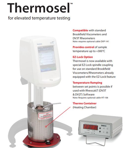 Thiết bị kiểm soát nhiệt độ Thermose Brookfield