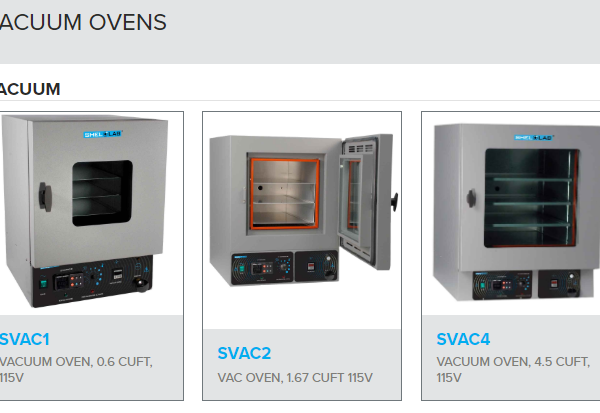Vacuum Ovens Digital Series SVAC