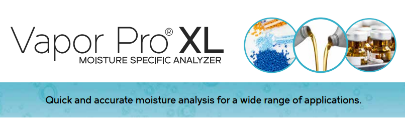 Máy đo độ ẩm của thuốc viên, bột đông khô | Vapor Pro XL