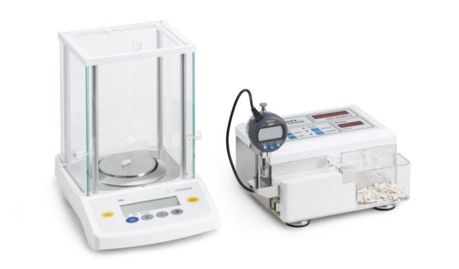 máy đo khối lượng viên thuốc dạng cơ HC6-2-EXT-plus
