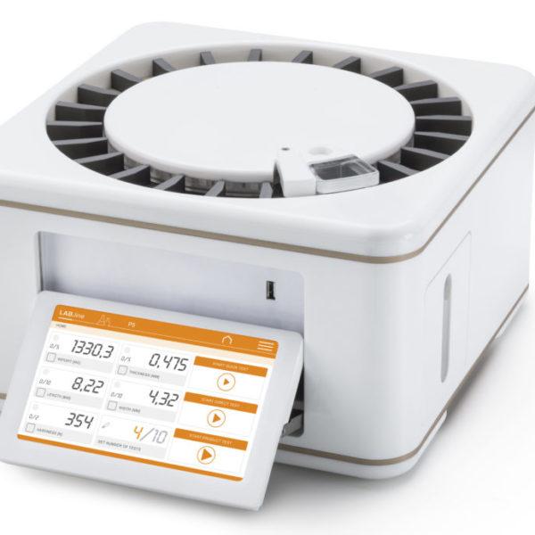 máy kiểm tra độ dày viên thuốc bán tự động P4