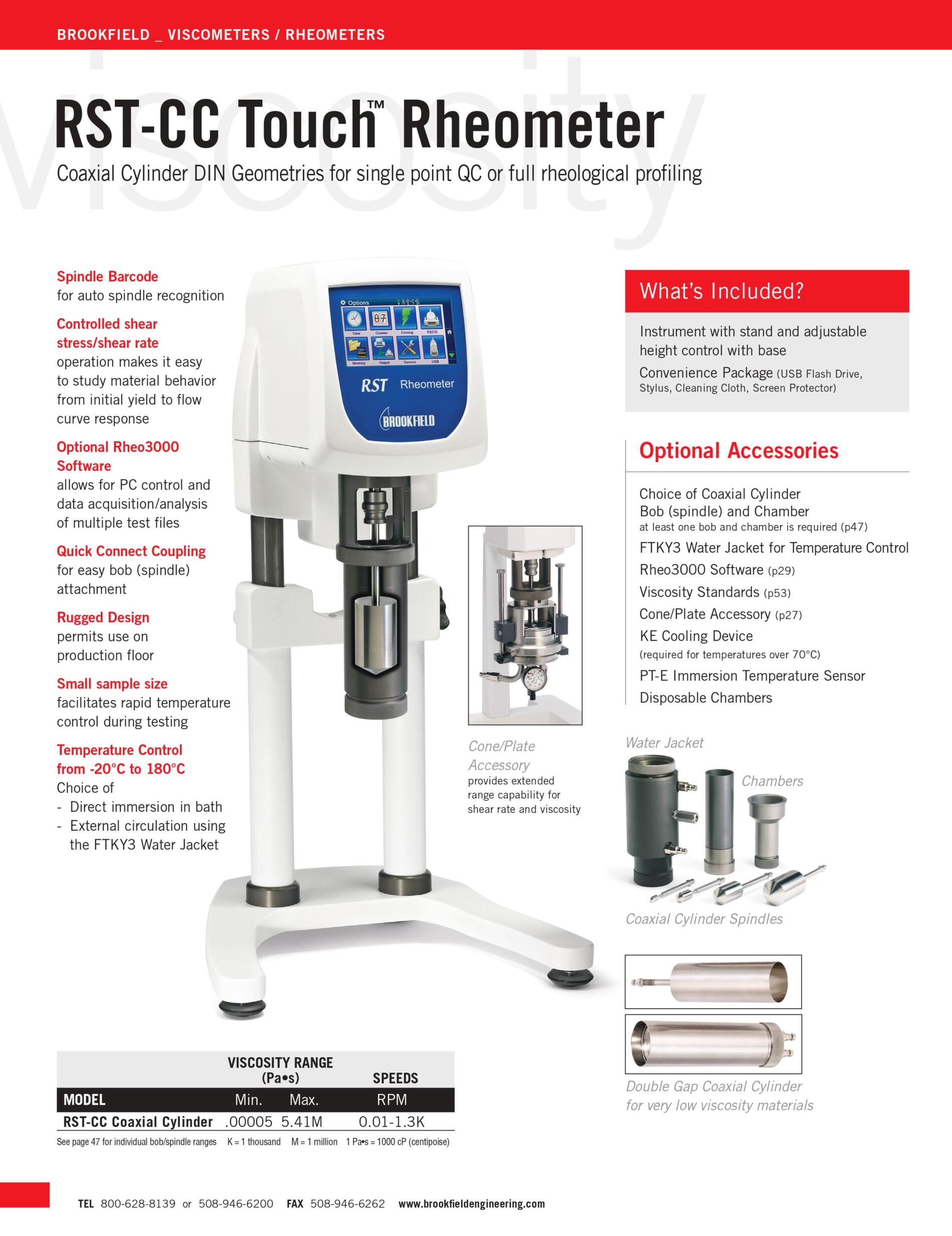 Máy đo độ lưu biến RST-CC