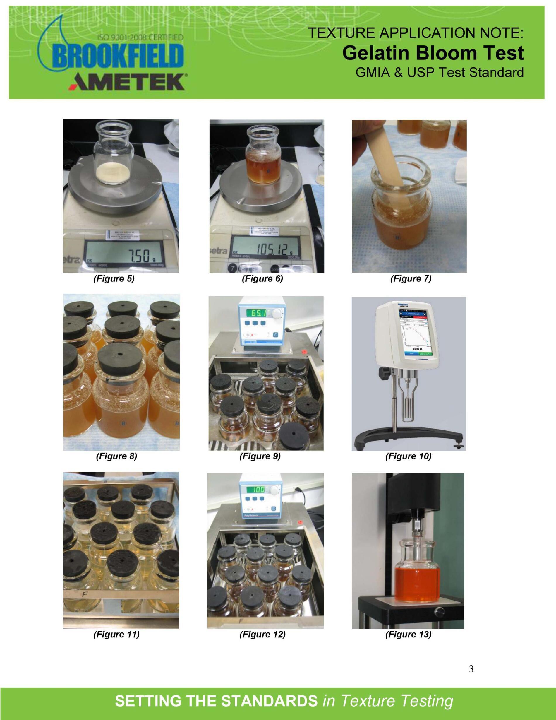 Phương pháp phân tích độ Bloom Gelatin